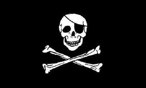 U24Bandiera Bandiera Pirata Barca Bandiera qualità premium 20x 30cm