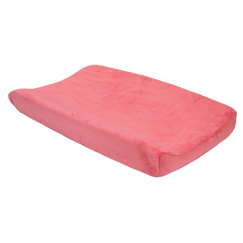 Pink Cocoa Dot (Trend Lab Cocoa Coral Changing Pad Cover, Pink)