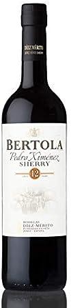 Vino dulce Pedro Ximénez Bertola 12 años 75cl. Envío GRATIS. (1 unidad)