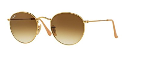 Ray Ban RB3447 112/51 50M Matte Gold/Clear Gradient Brown by Ray-Ban