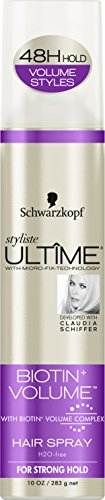 Schwarzkopf Ultime Styliste Biotin & Volume Hair Spray 10 oz
