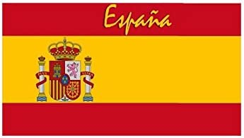Managal - Toalla de baño, diseño de bandera de España: Amazon.es: Hogar