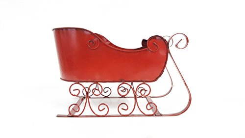 Red Holiday Sleigh
