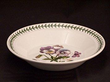 Portmeirion Botanic Garden Rim Soup Bowl(s) - Pansy ()