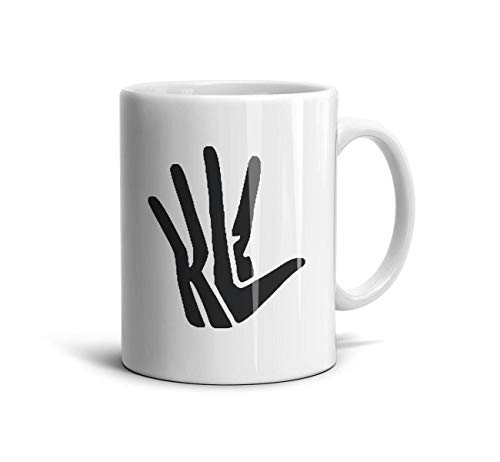 sknkdhgiJ White Novelty CeramicOffice Coffee Mug Kawhi-Logo-