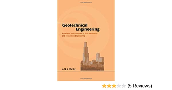Geotechnical Engineering By Vns Murthy Download