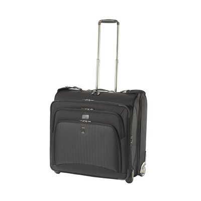 Platinum 7 50″ Expandable Rolling Garment Bag Color: Black, Bags Central