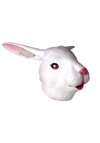 Deluxe Latex Animal Mask - Rabbit