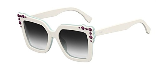 New Fendi FF 0260 S 0GA/9O Can Eye white light torquoise/grey Sunglasses