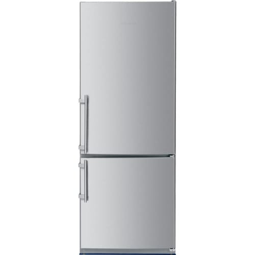 - Liebherr CS1640B 30 Fridge-freezer with 15.2 cu ft. Total Capacity 4.2 Cu. Ft. Freezer Capacity NoFrost Glass Shelves Right Hinge Sabbath Mode Energy Star Certified in Stainless Steel