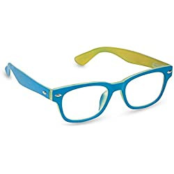 Peepers Bellissima Retro Reading Glasses,Blue,+1.75