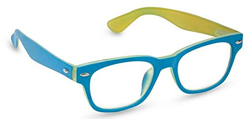 Peepers Bellissima Retro Reading Glasses,Blue,+2