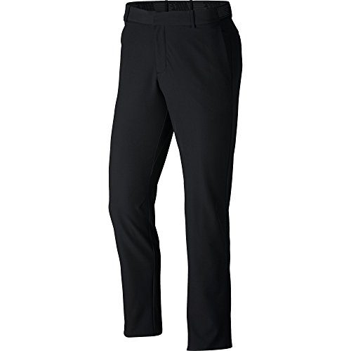 NIKE Men's Flex Slim Golf Pants, Black/Black, Size 32/32 (Best Slim Fit Golf Pants)