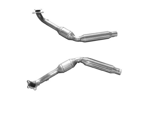 Solo Performance High Flow Catalytic Converters for 5th Gen. 2012 - 2015Chevrolet Camaro V6 3.6L LFX Direct Injection