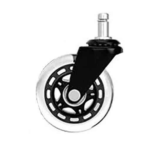 Silla de oficina universal con ruedas de 3 pulgadas, 5 unidades