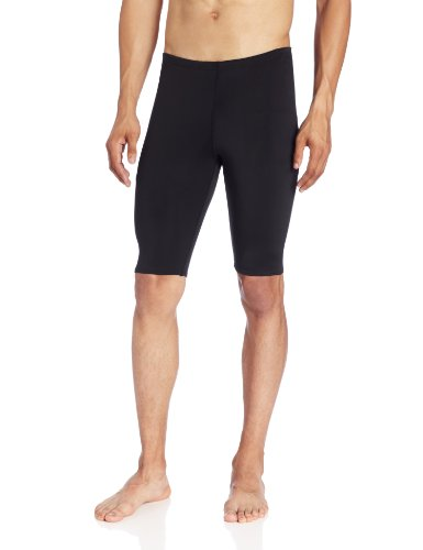 Kanu Surf Men's Competition Jammers Swim Suit, Black, - Men Swim Jammer