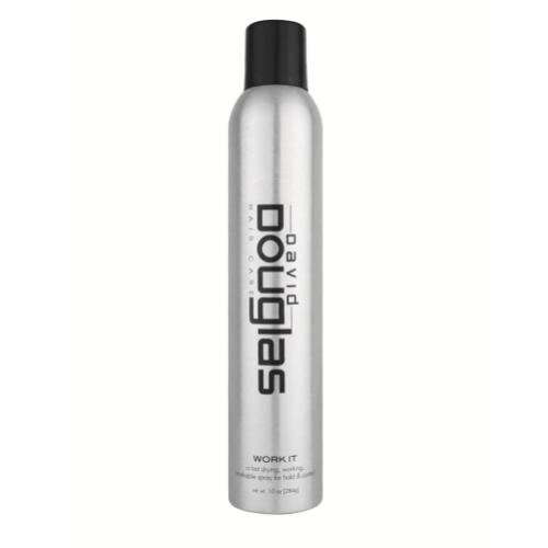 Work It ♥️ Shaping Flexible Hair Spray 10oz - Texture - Volume - Hold - by David -