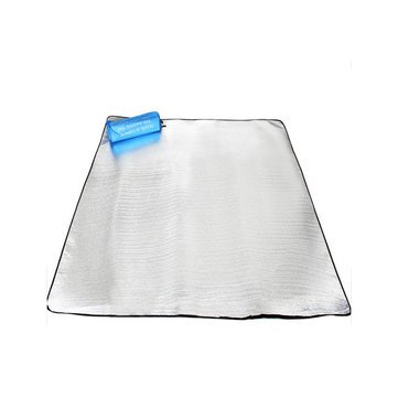 Camping & Hiking Tool - Camping Hiking Moisture Proof Mat Tent Picnic Mat Pad Aluminium Film Double Sided - Insulated Sleeping Winter Tents Yoga Trap Foil Reflective - Moisture-Proof - 1PCs