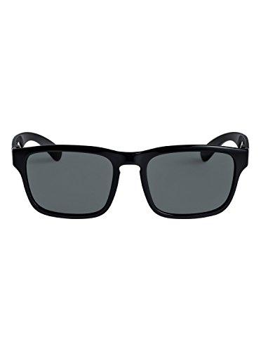 de para Gafas Shiny Black Quiksilver sol Stanford EQYEY03064 Grey Hombre UFwq7