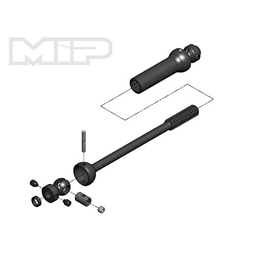 MIP Center Drive Kit Single Shaft 140mm - 165mm with 5mm Hubs, MIP18170 ()