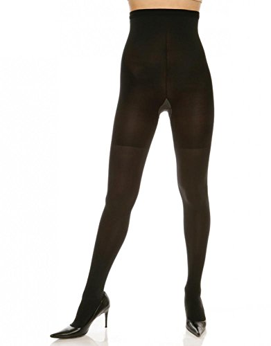 Spanx Nylon Tights - Spanx Tight-End Tights® High-Waisted Body Shaping Tights, 167, Black, C