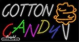 Cotton Candy LED Sign - 32 x 17 x 1 inches - Made in USA