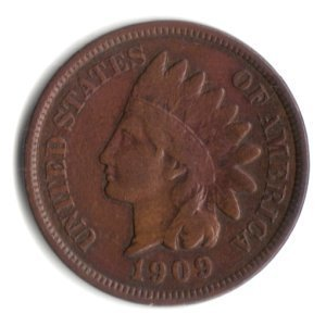 1909 U.S. Indian Head Cent / Penny - Indian Store Philadelphia