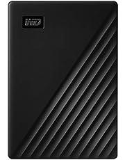 WD 5TB My Passport Portable External Hard Drive HDD, USB 2.0 Compatible, Black - WDBPKJ0050BBK-WESN