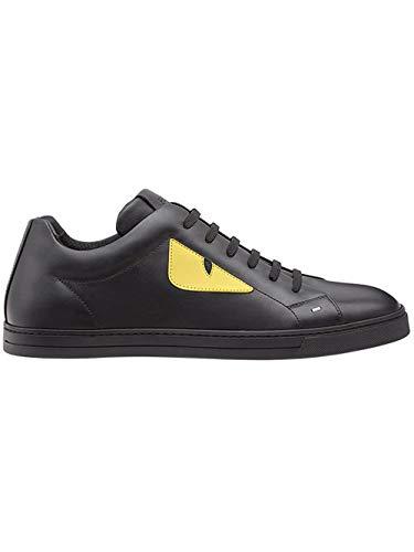 FENDI Men's 7E1071ttyf07om Black Leather -