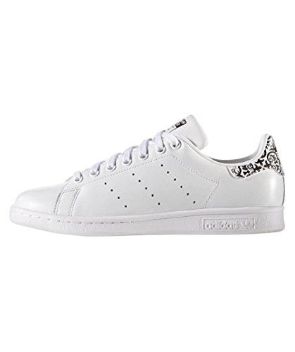 Blanc Femme ftwbla negbas De Fitness Smith ftwbla W Adidas Chaussures Stan ASY0z0