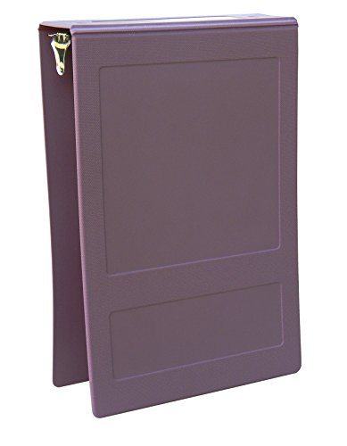 OMNIMED 205008-PM2 Top Open Molded Binder 2'' - 2 Ring - Plum -
