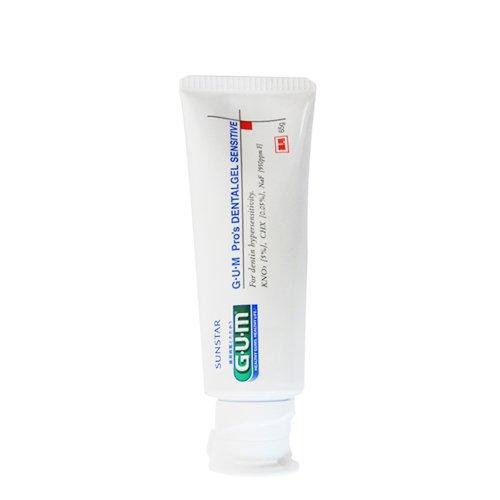 G.U.M Sunstar G. U. M Pro's Dental Gel Sensitive 65g 10 Tubes (Made in Japan)