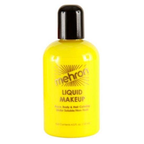Mehron Liquid Face Paints - Yellow Y (4.5 oz)
