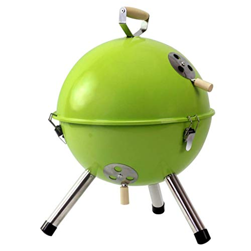 Zryh Portable Indoor/Outdoor Electric Grill, Green Suited Family Gatherings