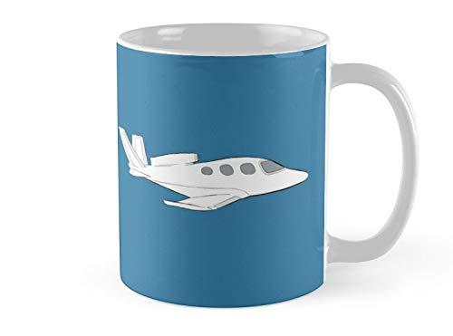 SeaZTh Mug Cirrus Vision SF50 Jet Mug - 11oz Mug - Features wraparound prints - Dishwasher safe - Made from Ceramic - Best gift for family friends