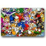 All Sonic the Hedgehog Games Custom Cool Doormat 23.6 Inch x 15.7 Inch