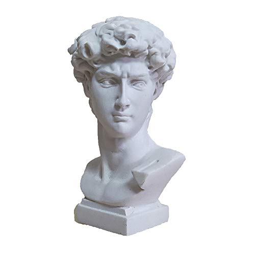 Mini David Head Statue