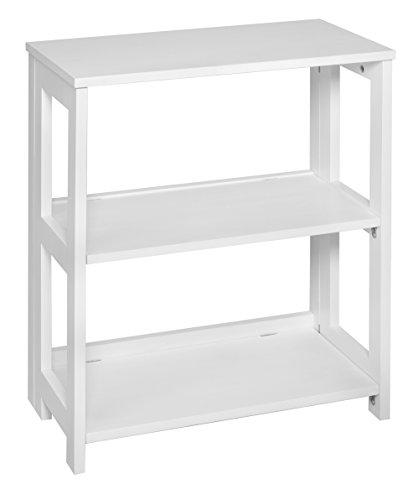 (Regency FF2822WH Flip Flop Folding Bookcase, 28