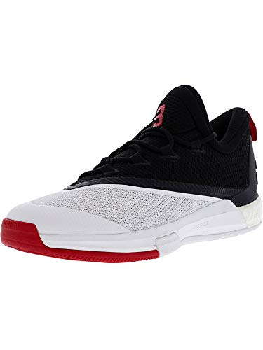 Crazylight Adidas 2 White Boost black red 5 Low Scarpe Uomo Basket Da UUrqOdx
