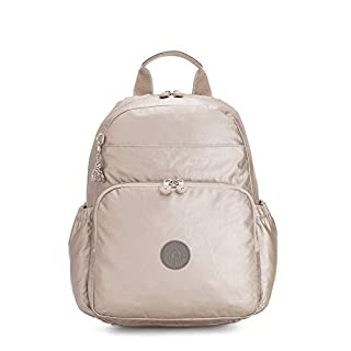Kipling Maisie Metallic Diaper Backpack Metallic Glow B
