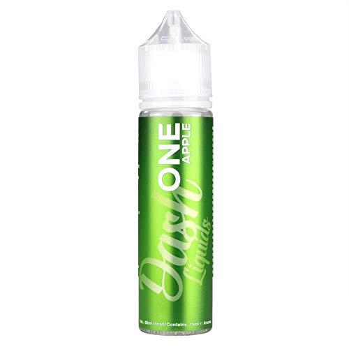 Dash Liquids Aromakonzentrat One Apple, Shake-and-Vape zum Mischen mit Basisliquid für e-Liquid, 0.0 mg Nikotin, 15 ml