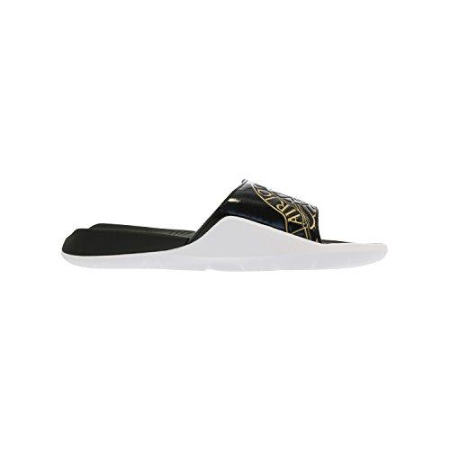 8e8728e42dbf ... greece nike jordan hydro 7 mens sandals black metallic gold white 12 by  a5a6a 6850d