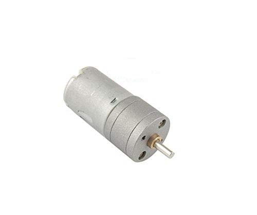 Yohii DC12V 40-50mA 1000RPM 25mm/0.98 Inch Dia Gearbox Electric DC Geared Motor Speed Reduction Motor by Yohii
