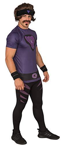 Dodgeball Purple Cobras Adult Halloween Costume Set (Adult Medium) - http://coolthings.us
