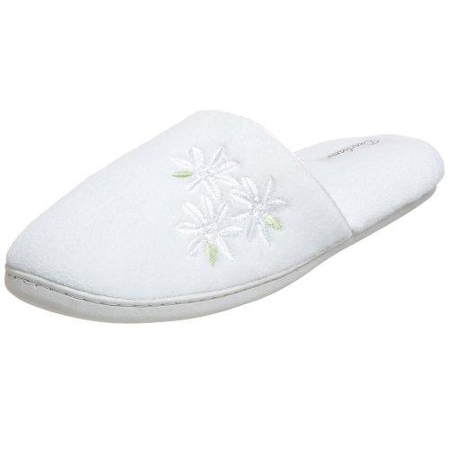 Dearfoams Womens DF591 Slipper White Dqr6Ji08