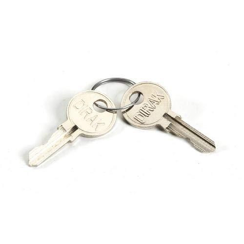 Black Box ECSPAREKEY, Spare Keys for Elite Cabinets, Pack of 50 Sets
