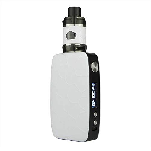iJoy Mystique Subohm Kit 162 W, mit Mystique Subohm Tank 3,5 ml / 5 ml, Riccardo e-Zigarette, weiß