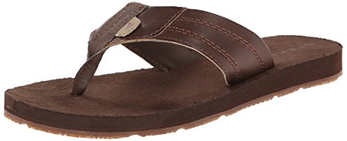 Sperry Topsail Casual Thong Sandal (Little Kid/Big Kid),Cigar Brown,13 M US Little Kid (Sperry Sandals Brown)