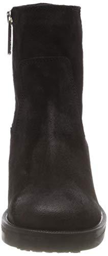 black Motardes Suede Jeans Noir Essential Tommy Boot Biker Femme 990 Bottes FpRMwq