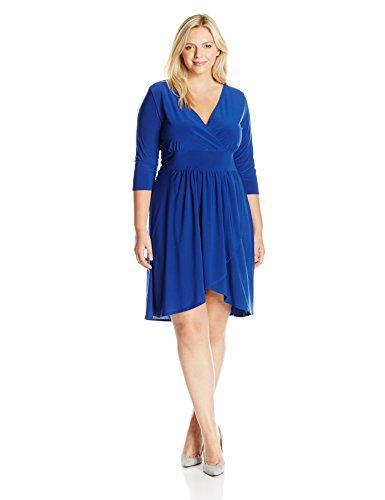 Neckline Knit Dress - 5